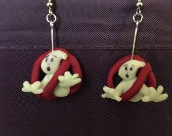 Ghostbusters earrings