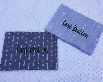 Personalized Baby Burp Cloth, Baby Burp Cloth, Set of 2 Burp Cloths