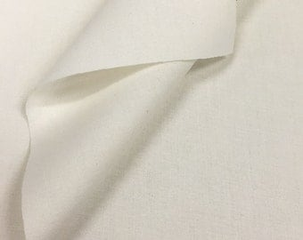 100% Cotton Sheeting Fabric By the Yard (Wholesale Price Available By the Bolt) USA Made Premium Quality - 6025 PFD Non Optic - 1 yard