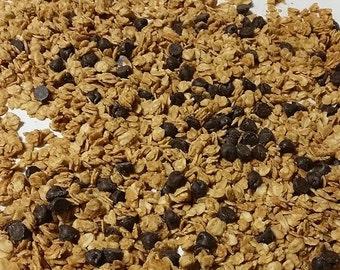 Peanut Butter Granola (Gluten Free, Vegan)