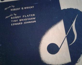 Original 1940s Sheet Music
