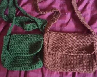 Small Green Shoulder Bag