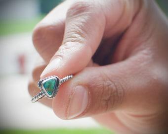 Turquoise Stacking Ring, Stacking rings, boho rings,