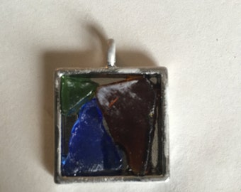 Lake Erie Beach Glass Pendant