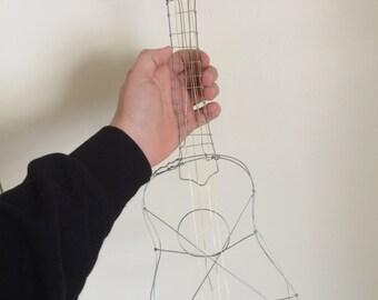 Wire Sculpture Ukulele