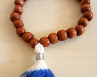 Dip Dye Tassel Bracelet