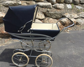 Vintage Silver Cross Carriage