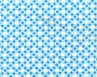 Dim Dots in Blue by Michael Miller