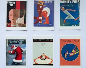 Vanity Fair Magazine Covers - Set of 6 postcards