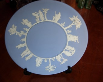 Blue Jasper Wedgwood Decorative plate in excellent condition
