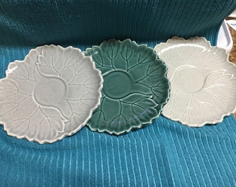 Woodfield Steubenville set of 3 Luncheon Plates