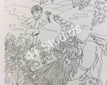 Unique coloring pages related items etsy for Jw coloring pages