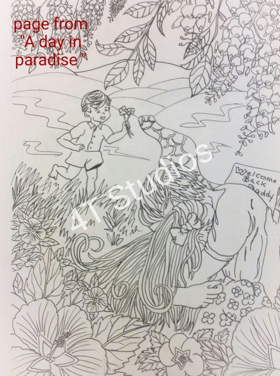 Resurrection coloring page paradise jpg jw gift jw for Jw coloring pages