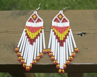 Traditional Pow Wow Earrings