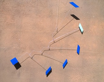 Kinetic Mobile Sculpture