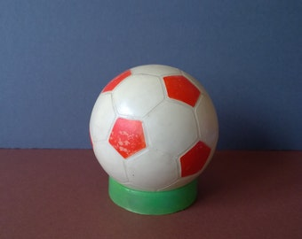 Football ball money bank/ Home decor