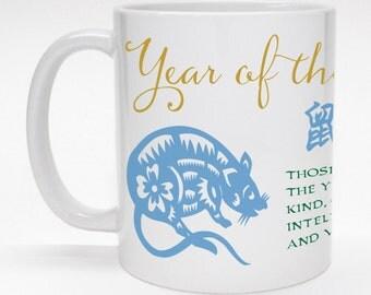 Chinese Horoscope Mug - Year of the Rat