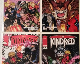 The Kindred #1-4 (Image 1994)