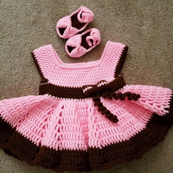 Crzycrochetcreations Baby Girl Dress Handmade Girls Dress Baby