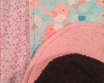 Baby Burp Cloth Set