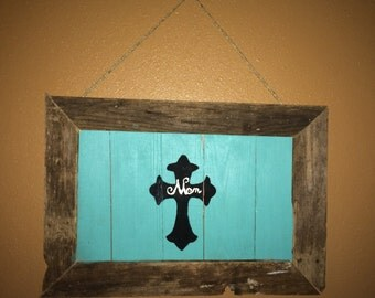 Handmade Painted Wood Sign
