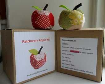 Patchwork Apple, Hand Sewing Kits