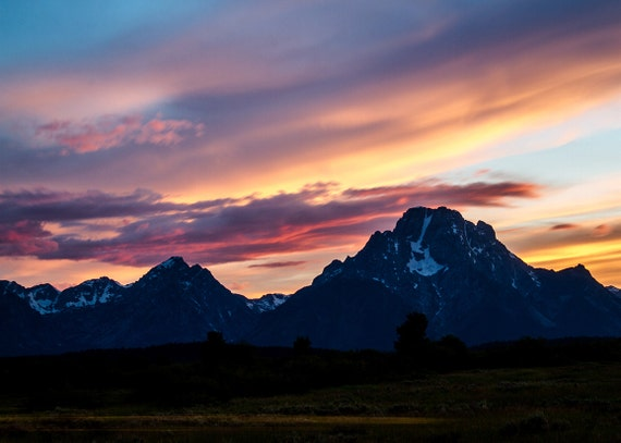 No. 036 | Teton sunset moran art wall photo print 8x10 11x14 16x20 gift present holiday christmas best top popular selling seller sale