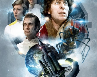 DOCTOR WHO A3 poster print - 'The Ark In Space'