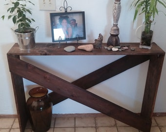 X Sofa Table