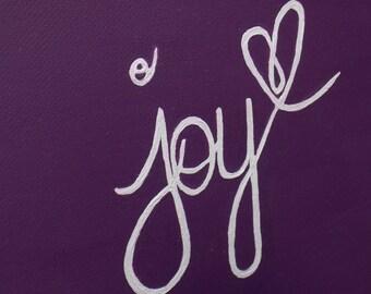 Joy Canvas - RebeccaAnneCreations