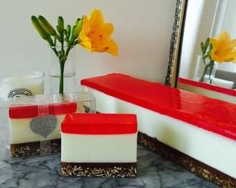 Cherry Cheesecake Soap