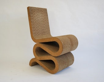Frank Gehry Wiggle Chair, 1980's
