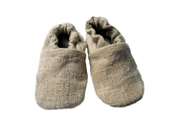 Hemp slippers , booties