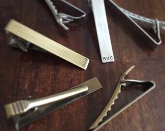 personalized tie clip
