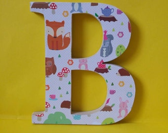 Girls bedroom wall/door decorations all names and initials available, unicorns, butterflies, ponies, bedroom letters