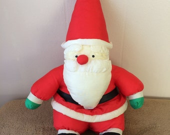 Santa Clause, stuffed, used