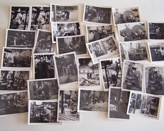 31 Vintage Photographs Blackpool Factory Men & Women Working