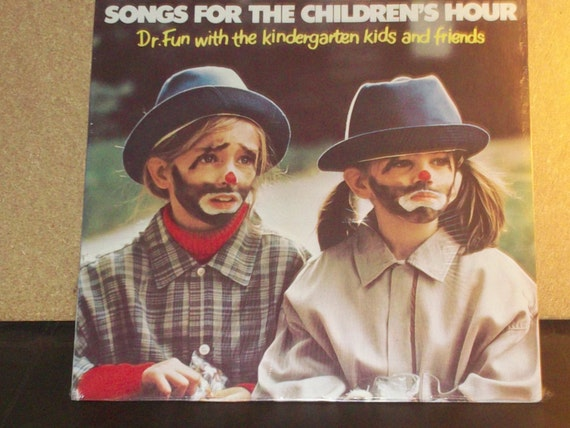Dr. Fun Songs For The Children's Hour Sealed Vinyl Record