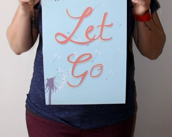 Digital art print - Let Go