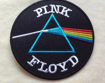 Pink Floyd Band Logo Iron On Patch