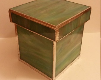 Spring Stained Glass Box