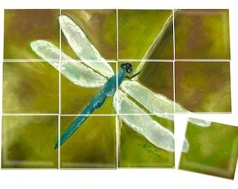 Dragonfly Ceramic Mural