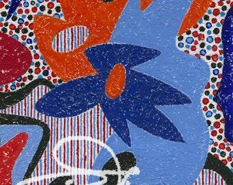 Claude's Art # 75G – Collection « Papiers Froissés »