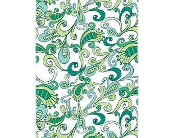 Paisley Flower Bath Towel