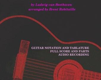Moonlight Sonata - Guitar Trio - Beethoven