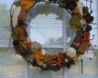 Citrus Scented Potpourri Vine Wreath