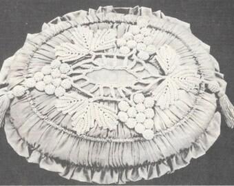 Princess Pillow crochet pattern