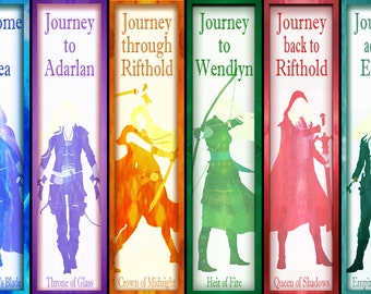 Throne of Glass Silhouette Bookmarks