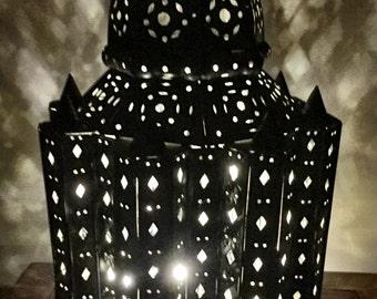 Punched Tin Lantern