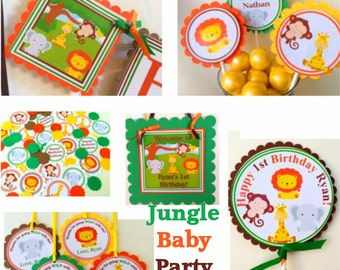 Jungle Baby Party Package